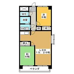 ANNEX M1[1階]の間取り