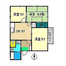 いちごハウス[1階]の間取り