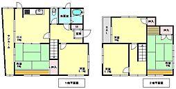 [一戸建] 兵庫県神戸市須磨区妙法寺字アチラムキ の賃貸【/】の間取り