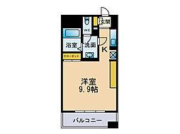 フェルト627[9階]の間取り