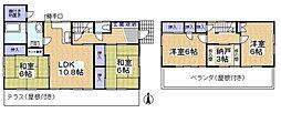 [一戸建] 埼玉県草加市手代町 の賃貸【/】の間取り