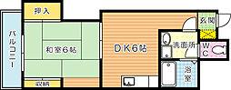 第三泰平ビル[1102号室]の間取り