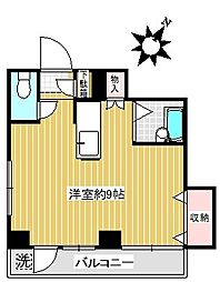 タフネレジデンス[2階]の間取り