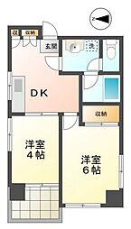 KANS国分寺[3階]の間取り
