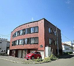 北海道札幌市東区伏古一条2丁目の賃貸アパートの外観