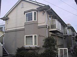 神奈川県横浜市神奈川区桐畑の賃貸アパートの外観