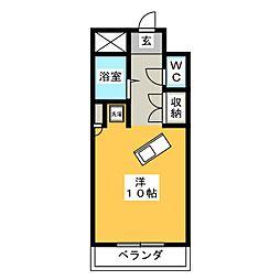 アルフィーネシマムラ[5階]の間取り