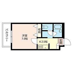 tym house[2階]の間取り