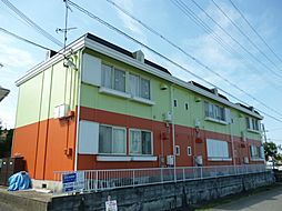 滋賀県東近江市妙法寺町の賃貸アパートの外観