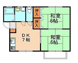 せりハウス[2階]の間取り