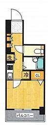 ドルチェ横浜・桜木町[2階]の間取り