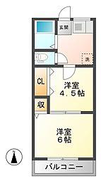 C-GATE[1階]の間取り