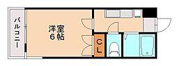 アクティアコート田島[2階]の間取り