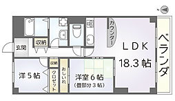 セブンマンション[303号室]の間取り