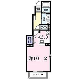 ヌーベル21[0101号室]の間取り