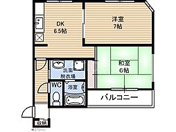 デイブレイク210[2階]の間取り