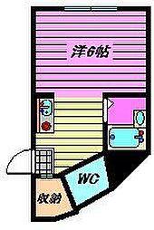 Flat Tamura[2階]の間取り