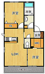 EST Maison[2階]の間取り