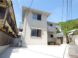 兵庫県神戸市灘区青谷町4丁目の賃貸アパートの外観