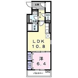 メゾン ド ソフィア[3階]の間取り