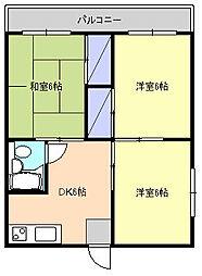 ヴェルデ藤沢[1階]の間取り