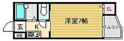 ミドウスジ堺I[2階]の間取り