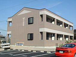 三重県鈴鹿市弓削2丁目の賃貸アパートの外観