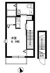 D-Studio[2階]の間取り