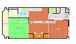 京橋ビル新館[4階]の間取り