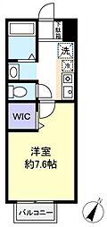 ハイグレード高根台[2階]の間取り