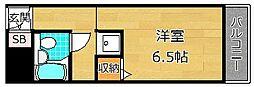 プレアール楠葉東山[1階]の間取り