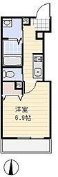 埼玉県さいたま市浦和区神明2丁目の賃貸アパートの間取り