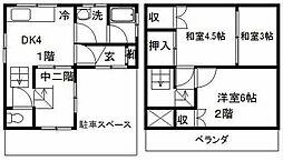 [一戸建] 東京都江東区大島3丁目 の賃貸【/】の間取り