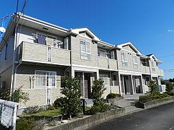 滋賀県近江八幡市西庄町の賃貸アパートの外観