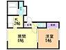 間取り,1LDK,面積35.88m2,賃料4.8万円,バス 函館バス万年橋下車 徒歩3分,,北海道函館市北浜町