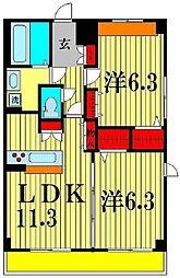 仮)十太夫マンション[3階]の間取り