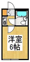 ラヴニール志木4[102号室号室]の間取り