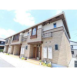 奈良県生駒郡斑鳩町龍田南4丁目の賃貸アパートの外観