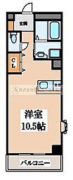 マンション美侑[3階]の間取り