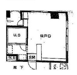 コーヨービル[5階]の間取り