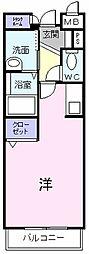 コンコールディア[1階]の間取り
