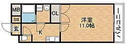 マンションFINO[2階]の間取り