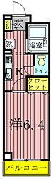 GMウエストハイツ[2階]の間取り
