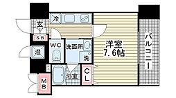 アドバンス神戸アルティス[1502号室]の間取り