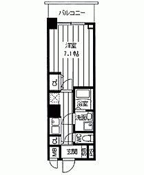 サムティナンバ南[0303号室]の間取り
