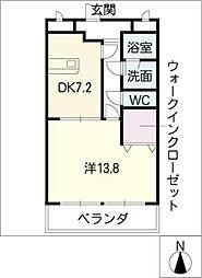 戸嶋屋ビル[5階]の間取り
