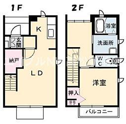 [テラスハウス] 香川県高松市伏石町 の賃貸【/】の間取り