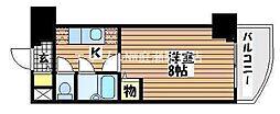 シャトー日興[10階]の間取り