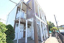 埼玉県川口市大字西新井宿の賃貸アパートの外観