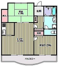 グランプラース[2階]の間取り